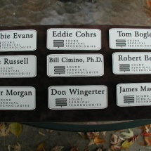 Acrylic Business Production Name Badges