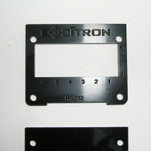Electronic Parts, Laser Cut Laminate Housing Close Up
