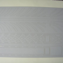 Paperboard, Cut Parts for Architectural Model, 1 of 2